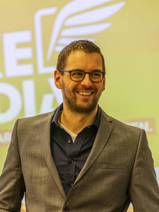 Matthias Wagner ist unser Fachmann für Fragen rund um Digitalisierung. Foto: Gerald Prüller / Moststraße